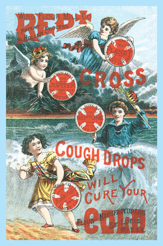 1897 - Red Cross Cough Drops