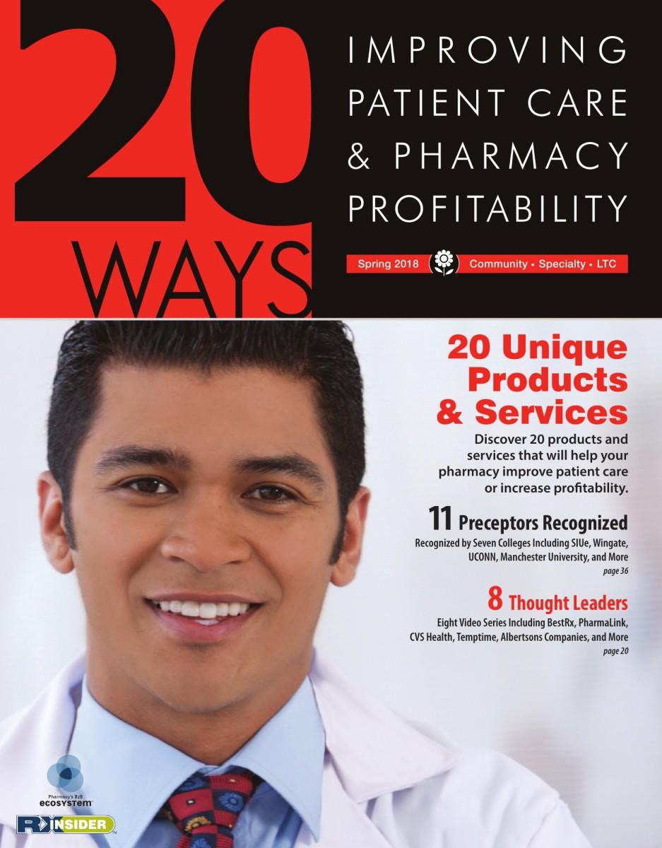 20ways improving patient care pharmacy profitability spring 2018