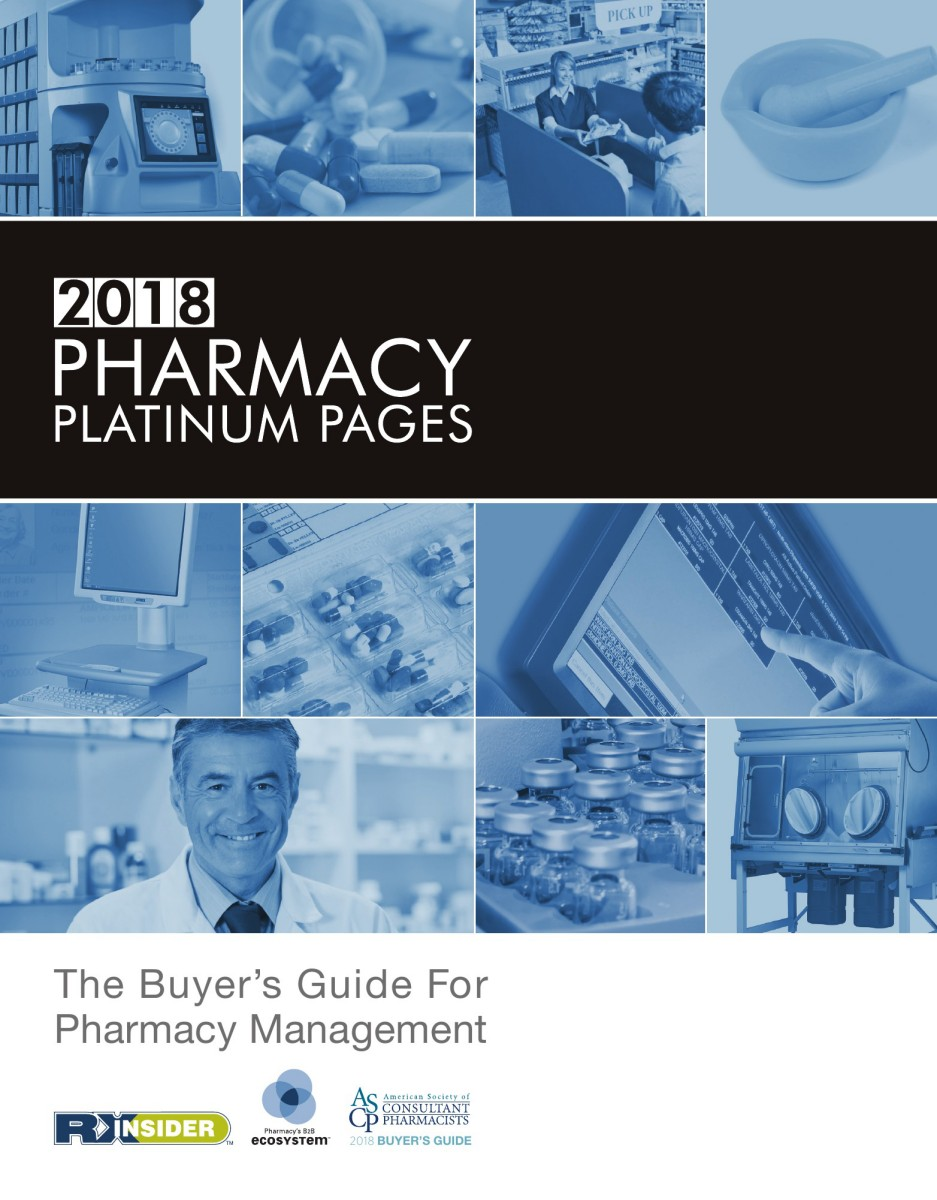 2018 pharmacy platinum pages buyers guide fandeluxe Choice Image