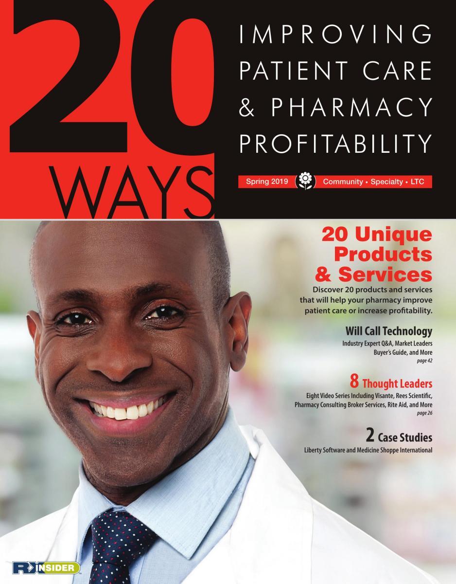 20Ways: Improving Patient Care & Pharmacy Profitability, Spring 2019